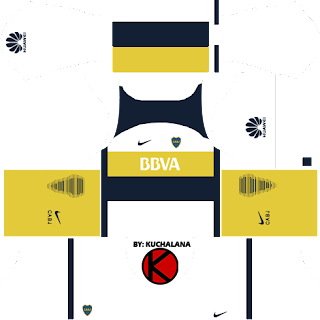 Boca Junior 2016/17 - Dream League Soccer Kits and FTS15