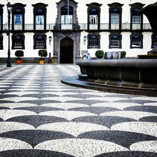 Praça do Município in Funchal, Madeira