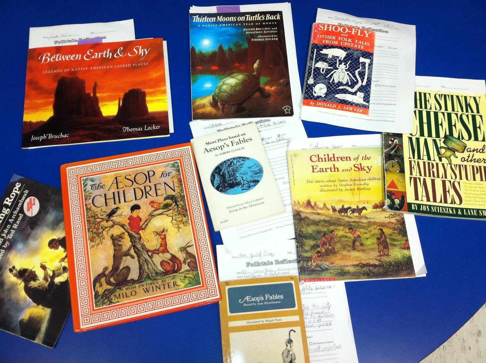 Fourth Grade Flipper Tried It Tuesday Folktales