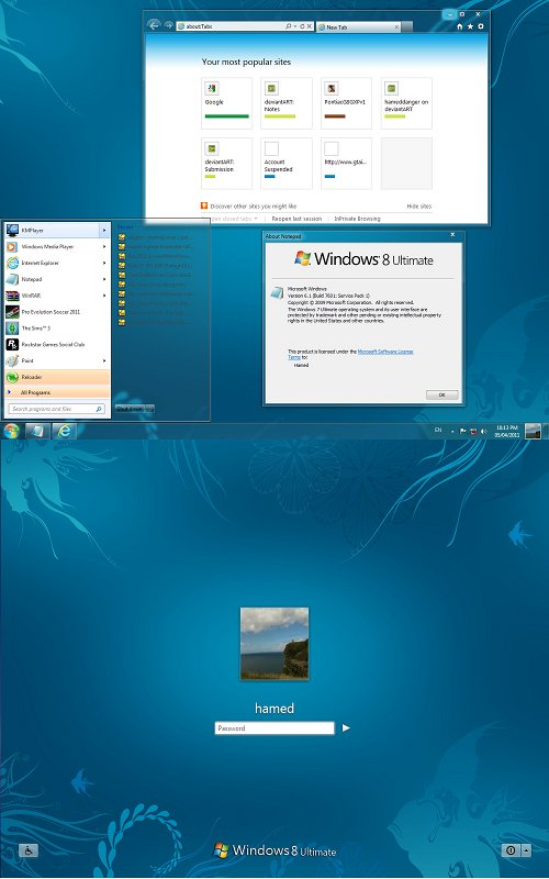 [DOWNLOAD] Kumpulan Themes Super Keren u/ Windows 7