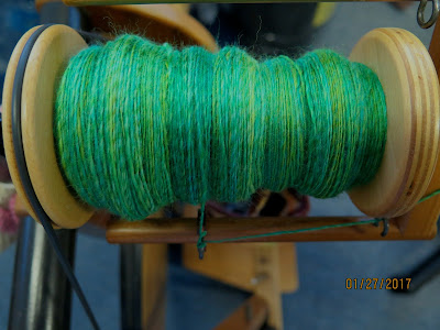 Spinning spring colors