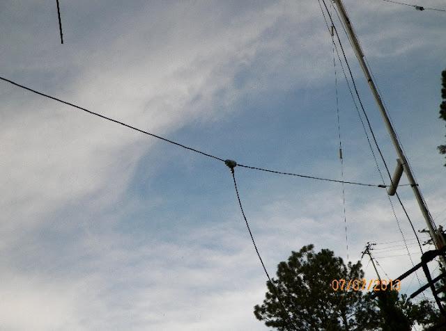 Antena Doble Bazooka para CB-27 MHz