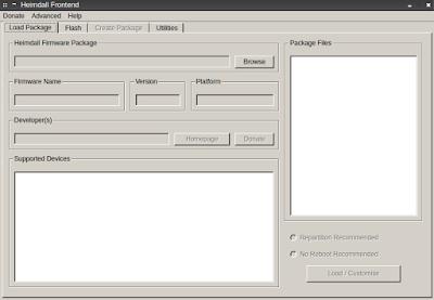 Cara Flashing Android di Linux dengan Heimdall
