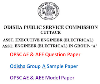 OPSC AE & AEE Model Question Paper 2017 Answer Key