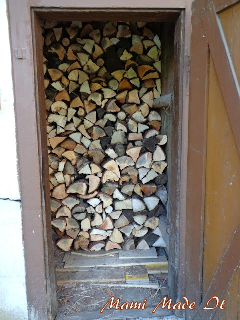 firewood for the winter