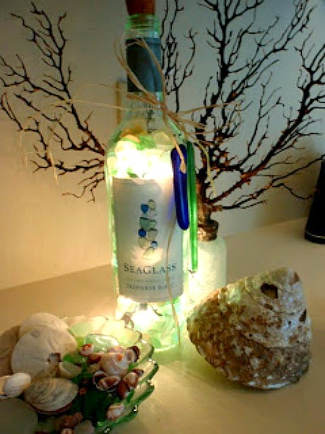 Christmas Light Bottle