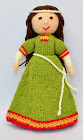 Medieval Doll Knitting Pattern