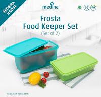 Dusdusan Frosta Food Keeper Set (Set of 2) ANDHIMIND