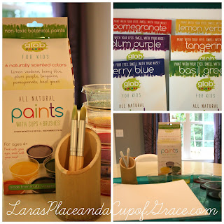 Glob paint, homeschool art, glob paint giveaway