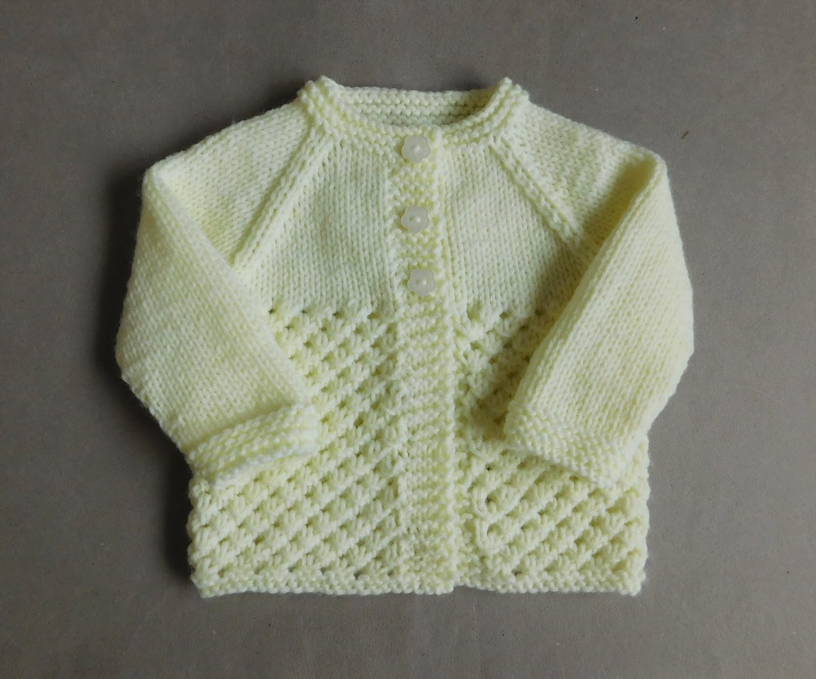 How To Increase Stitches In Knitting Sleeves : mariannas lazy daisy days: Danika Baby Jacket