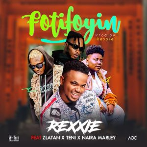 Download Instrumental With Hook:- Rexxie Ft Zlatan, Teni, And Naira Marley – Foti Foyin