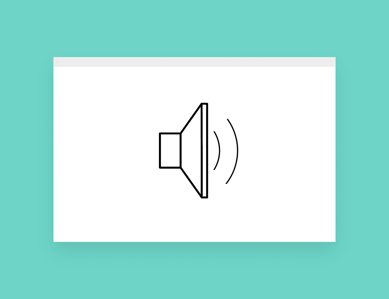 no audio output on pc