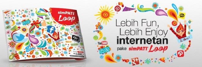 Trik Paket Internet Murah Simpati Loop