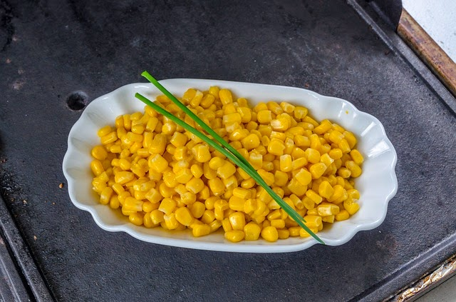Healthy Side Dish Maple Flavored Corn | Becky Cooks Lightly
