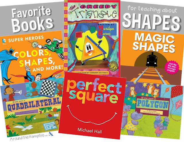 Favorite Books For Teaching About Shapes
