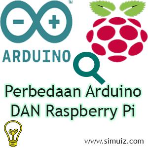 perbedaan Arduino dan raspberry pi dan cara kerjanya