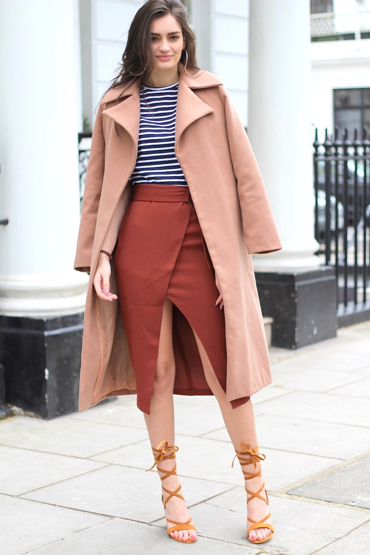 midi skirt style spring
