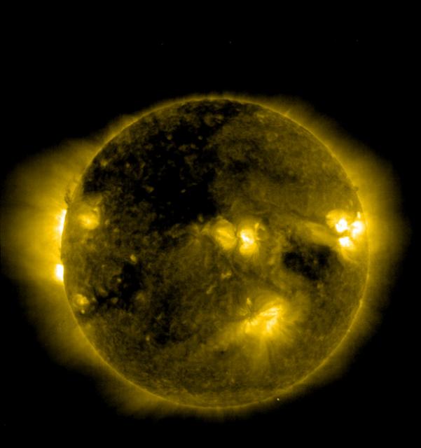 the sun ufo
