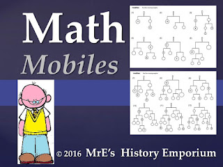 https://www.teacherspayteachers.com/Product/ANY-LESSON-Math-Mobiles-projects-2621309