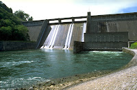 The Norris Dam in Tennessee