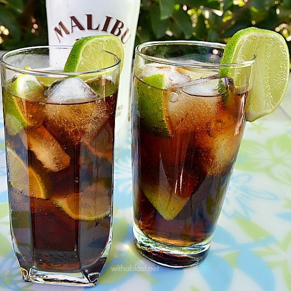 Malibu Coco-Cooler Cocktail
