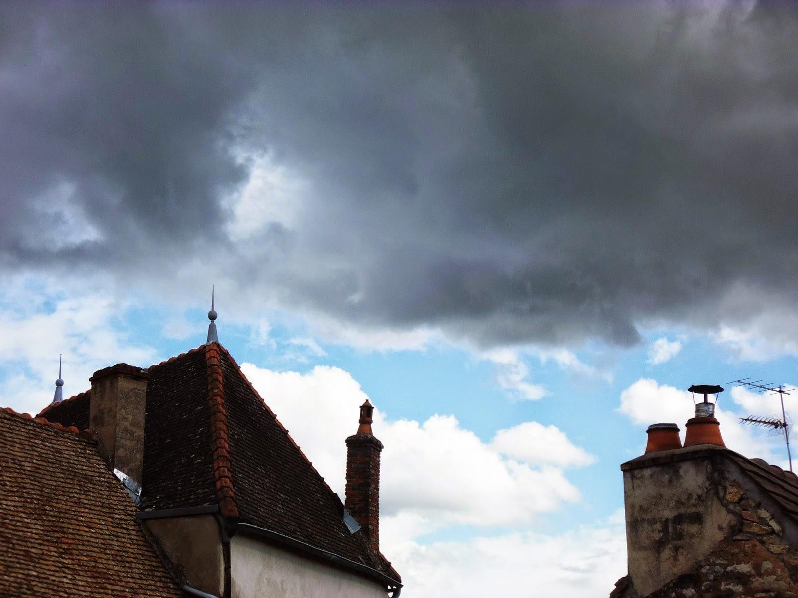 Nuages d'orage