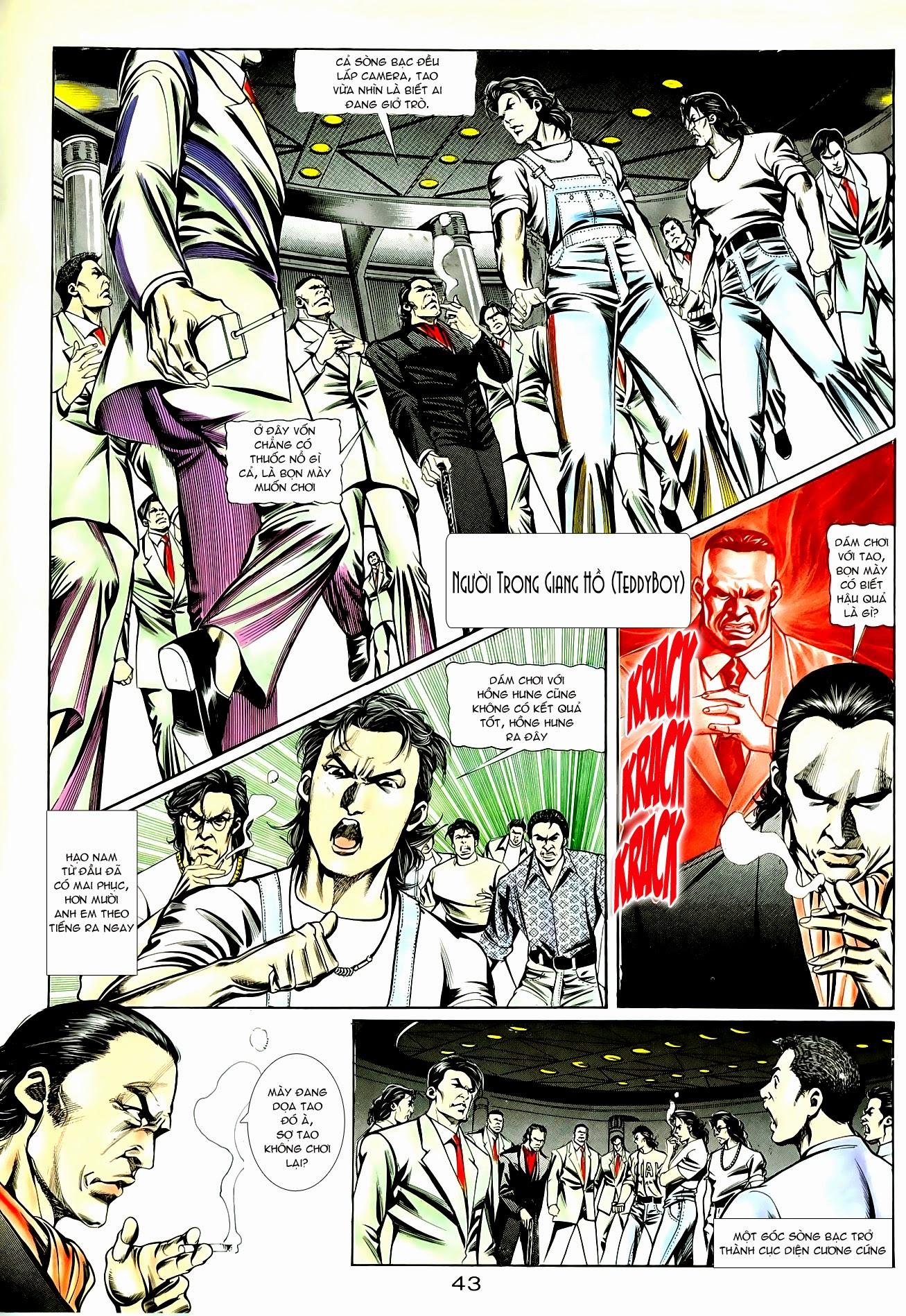 Người Trong Giang Hồ chapter 85: diệt môn trang 16