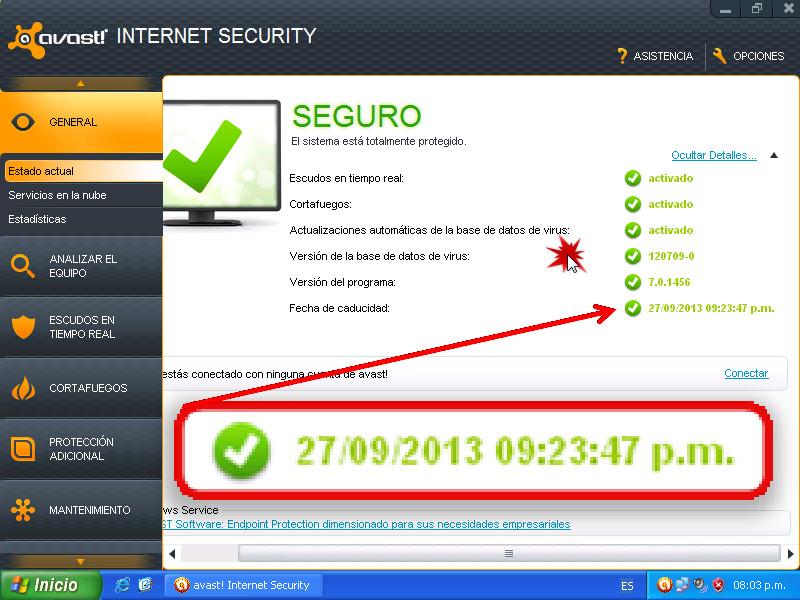 avast 8 internet security license key till 2019