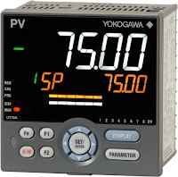 process temperature controller DIN mount digital display