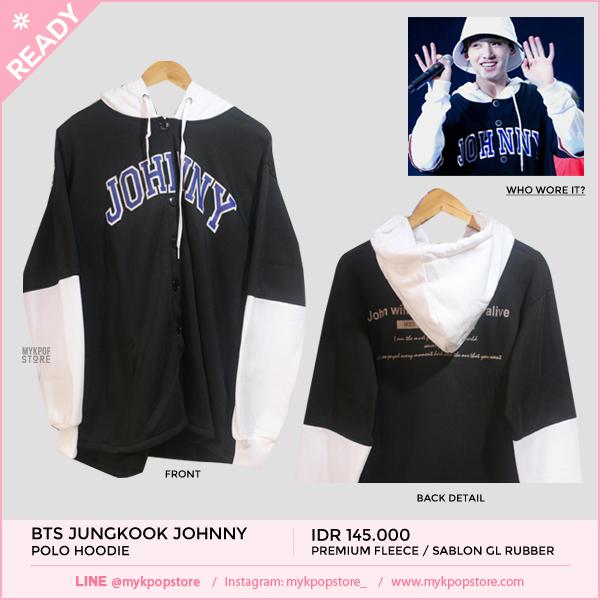 BTS Jungkook 'Johnny' Hoodie