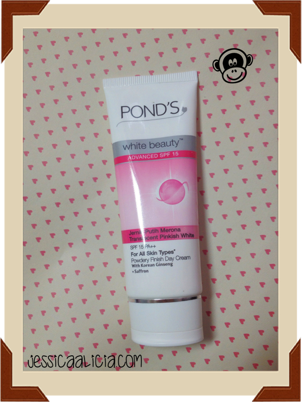 Review : Pond's White Beauty Powdery Finish Day Cream by Jessica Alicia