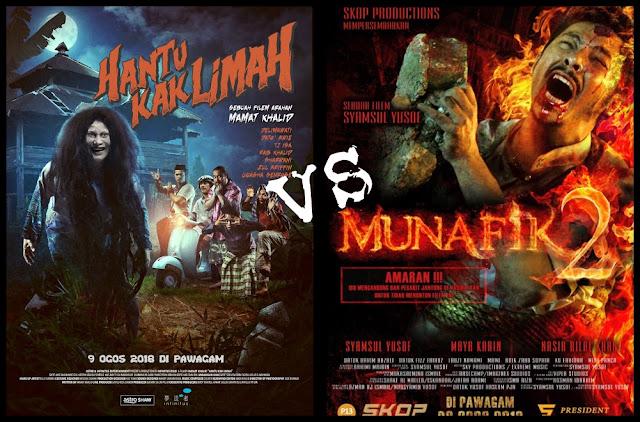 Marathon Movie Hantu Kak Limah Dan Munafik 2