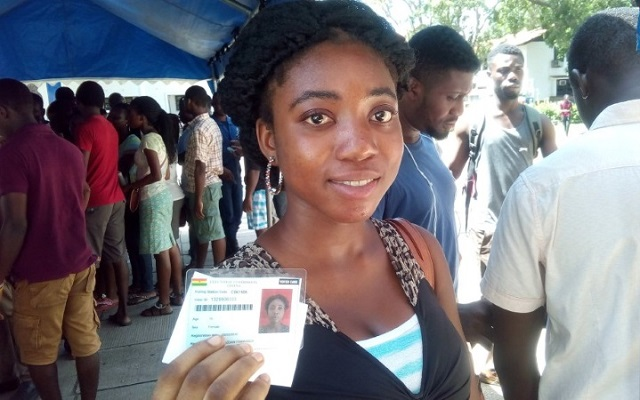 2016 polls: EC opens continuous registration for first timers