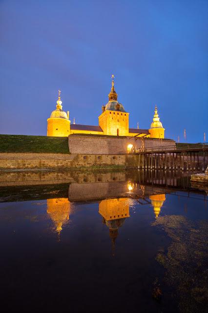 Kalmar-Castello di notte