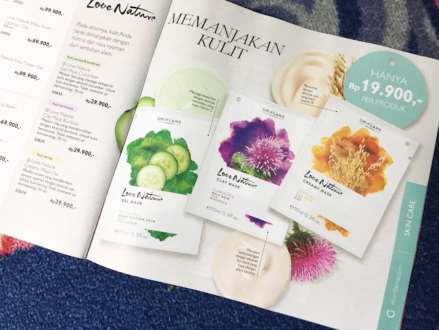 Love Nature Mask dari  ORIFLAME