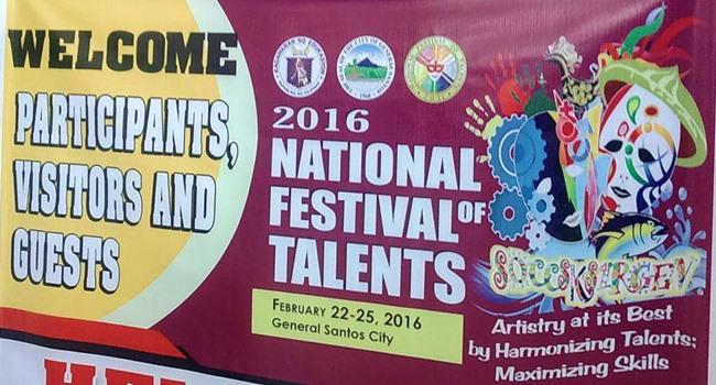 Gensan hosts 2016 National Festival of Talents