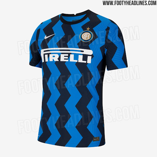 Inter 20-21 Home Kit Released - Footy Headlines
