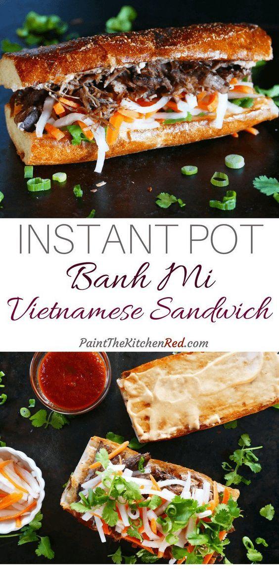 Instant Pot Bahn Mi | Vietnamese Sandwich
