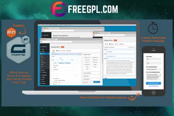 Gravity Forms - The Best WordPress Form Plugin Free Download