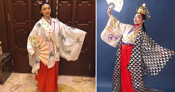 Miss World 2018 candidate is direct descendant of famous 17th century samurai lord