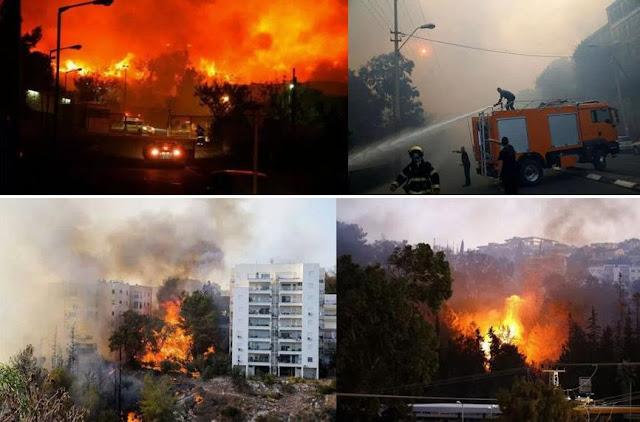 Israel Kewalahan Menghadapi Kebakaran Hebat : kabar Terhangat Hari Ini