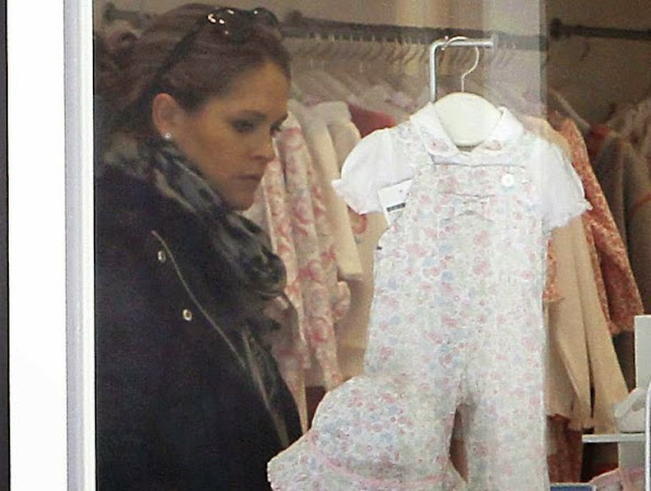 HRH Princess Madeleine of Sweden shops baby daughter Princess Leonore in NYC