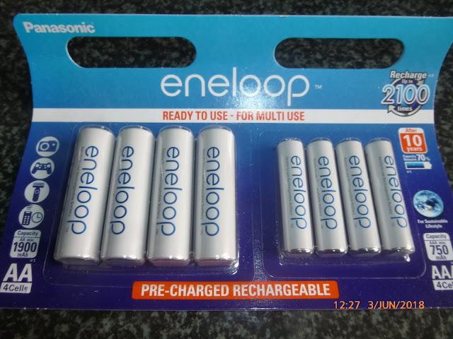 Panasonic eneloop – Batterien AA & AAA