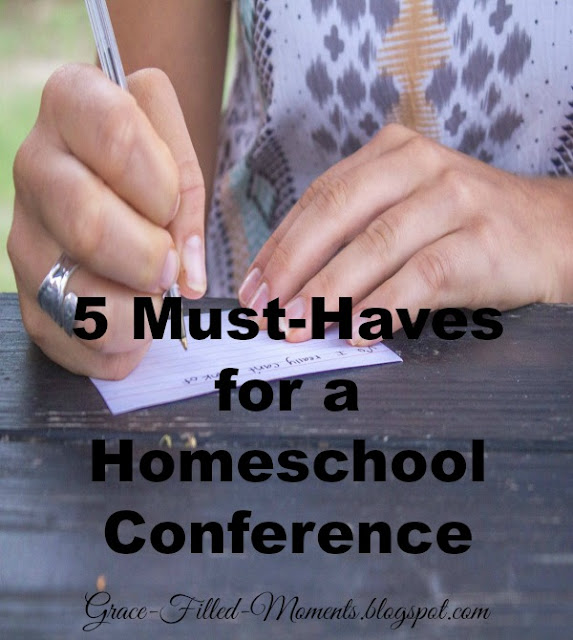 What should I take to a Homeschool Conference