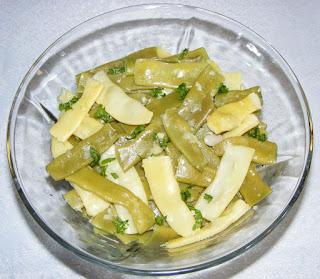 salata de fasole verde, salate, garnituri, salata de fasole pastai, retete, retete culinare, retete vegetariene,
