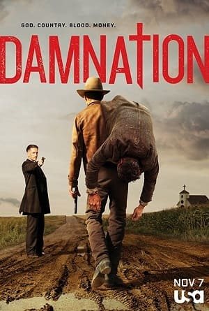 Damnation Séries Torrent Download capa