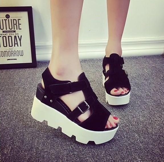 zapatos de plataforma para gorditas