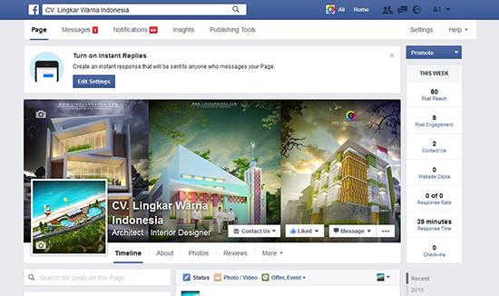 fanspage facebook lingkar warna indonesia