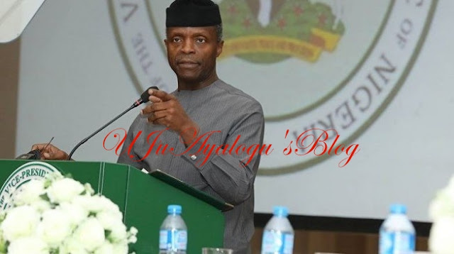 PDP Didn't Complete Any Major Infrastructure Project In 10 Years - Osinbajo