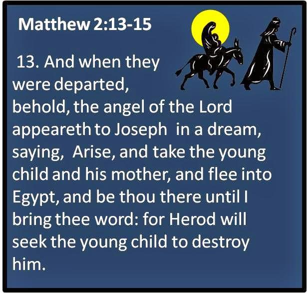 Christmas Advent Week 3 Day 21 Matthew 2 13 15